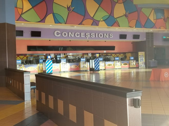 The Regal Cinemas 16 at The Centre at Salisbury mall closed in early March due to the COVID-19 pandemic. Gov. Larry Hogan announced that movie theaters will be able to reopen starting Friday. Sept. 4.