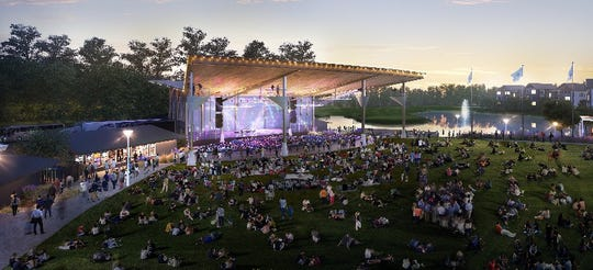 The Freeman Arts Pavilion boasts 4,400 seats, including 1,100 fixed seats that are under cover.