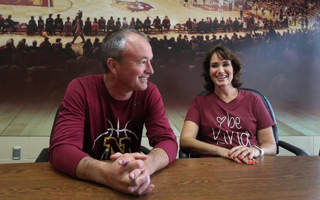 "Northern State University men's basketball coach Saul Phillips and his wife, Nicole, will be on ""House Hunters"" Wednesday night."