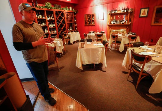 James Martin, owner of Gilardi's restaurant, talks about the steps he is taking to help protect their customers and employees from the COVID-19 virus.