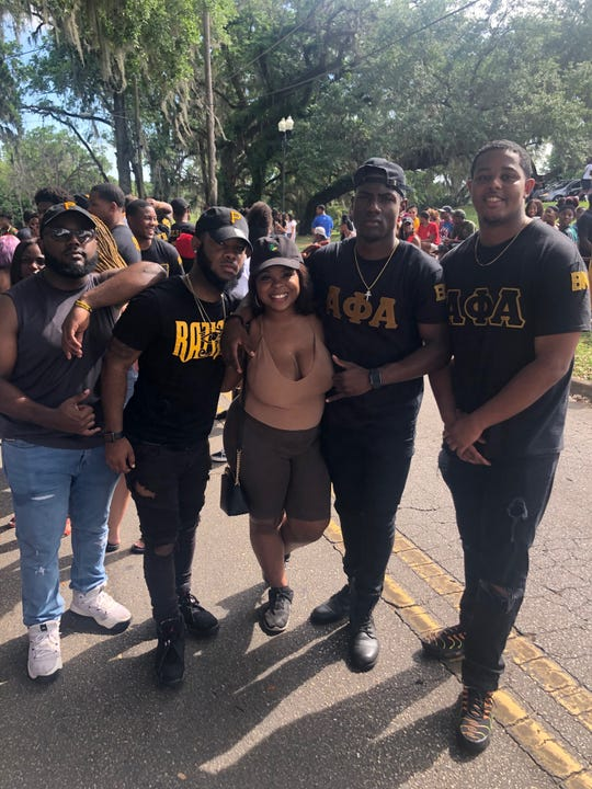(L-R) Daniel Joseph, Shareek Branch, Kiffani Zackery, Te-Andre Brown and Myles Millsap pose in this submitted photo.
