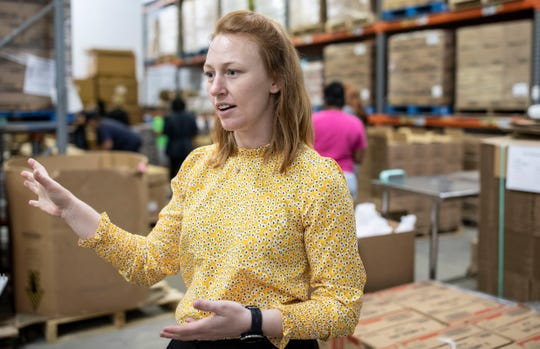 Monique Ellsworth, CEO of Second Harvest, describes what she and her team are doing to help students in the Big Bend fight hunger during the school closures due to the coronavirus.