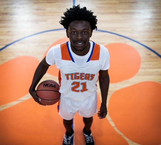 Jefferson County senior forward Detrevian Nealy is the 2020 All-Big Bend Defensive Player of the Year in boys basketball after averaging area-bests in points (22.9) and rebounds (13.5), while recording 2.2 steals and 1.9 blocks per game.