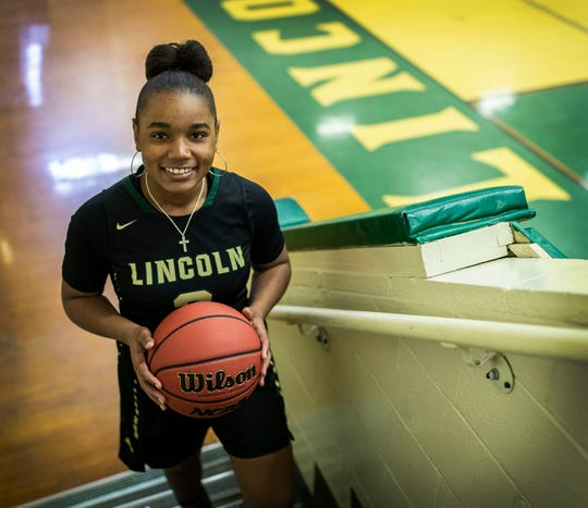 Lincoln junior guard Erin Turral is the 2020 All-Big Bend Player of the Year in girls basketball after averaging an area-best 30.8 points per game, along with 5.1 rebounds, 4.6 assists and 4.5 steals per game for a Trojans team that went 24-4.