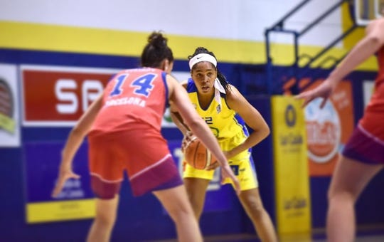 Sparkle Taylor averaged 23.3 points per game for SPAR Gran Canarias in the Spanish second division
