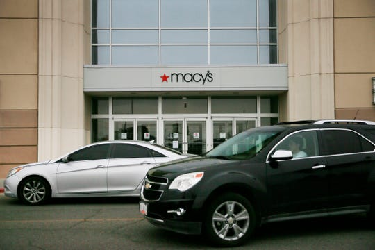 Macy's store at Cielo Vista Mall is among one of the stores being temporarily closed nationwide Tuesday, March 17, in El Paso.