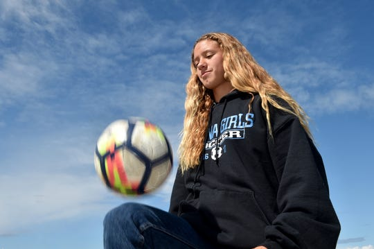 After a sensational senior season, Buena High's Marissa Saucedo will play for the University of Massachusetts-Lowell.
