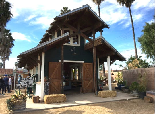 The Abundant Table farm store in Camarillo offers drive-thru pick-up service of its organic produce from 10 a.m. to 5 p.m. daily.
