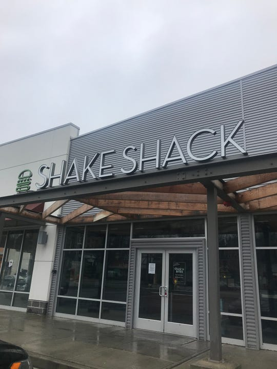 Shake Shack in Hartsdale is temporarily closed because of coronavirus concerns.