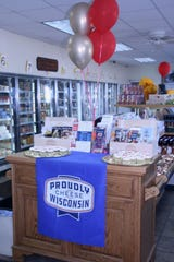 The Dupont Cheese Factory Store is actually a small convenience store featuring a wide selection of cheese, other dairy products and more.