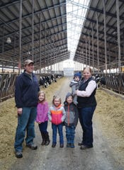 Kelly Oudenhoven was told in high school that the career she wanted to pursue wasn't an option because being a farmer was only for men. She proved them wrong.