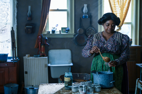 "In ""Self Made,"" Octavia Spencer plays Madam C.J. Walker, an entrepreneur who started a successful hair care line for African American women."