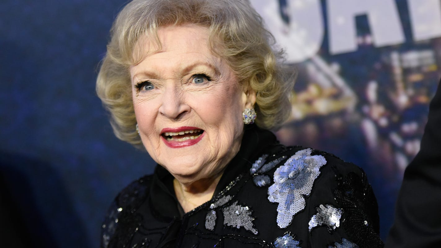 Betty White is 99: Her top tips for living a long and healthy life