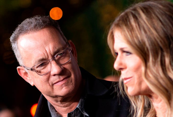 Not even Hollywood is safe from the coronavirus pandemic that has gripped much of the world. Many celebs are sharing their thoughts on the outbreak and how they've been coping with the virus, includingTom Hanks and wife Rita Wilson, who both tested positive for the coronavirus in Australia.