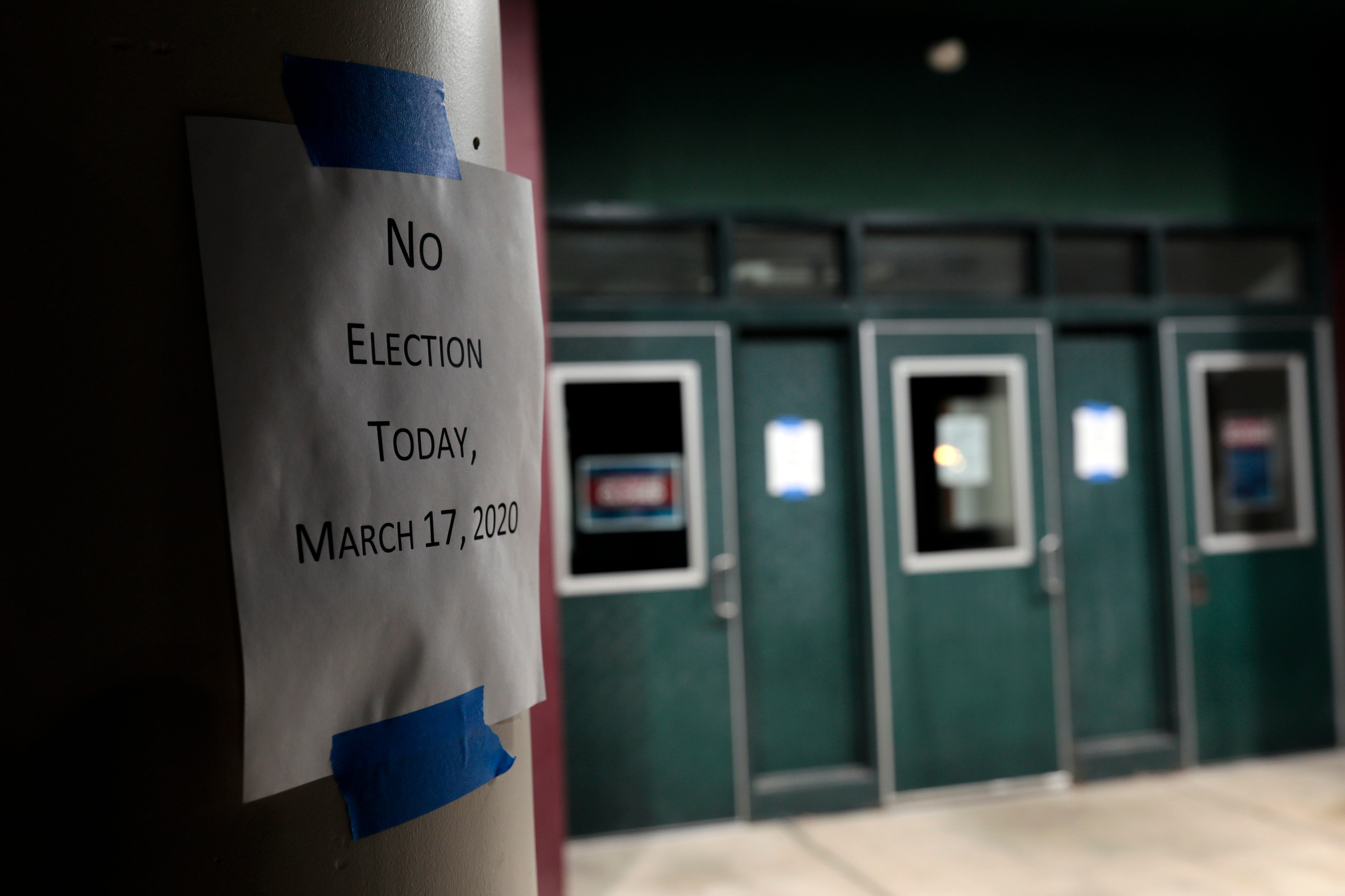 As coronavirus pandemic delays 2020 primaries, is it time to worry about the November election?