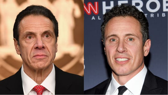 Brothers Chris Cuomo and Gov. Andrew Cuomo debated who is their mother's favorite son on CNN.