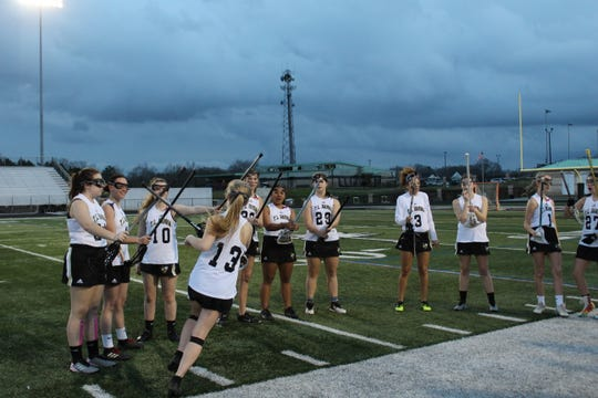 The T.L. Hanna girls lacrosse season was cut short due to the COVID-19 pandemic.