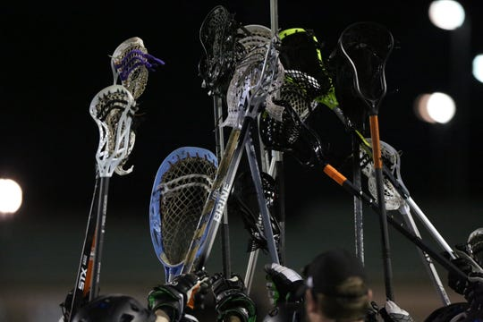 The T.L. Hanna boys and girls lacrosse seasons were cut short due to the COVID-19 pandemic.