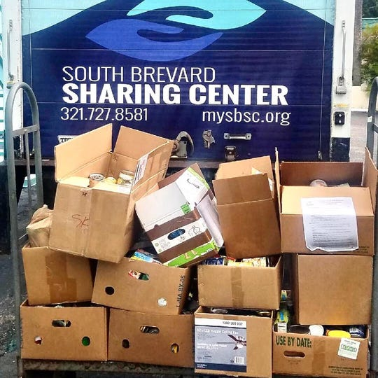 A fall 2019 food drive organized at West Shore Junior/Senior High School brought in 472 pounds for South Brevard Sharing Center. The center will be closed indefinitely in wake of concerns over the coronavirus.