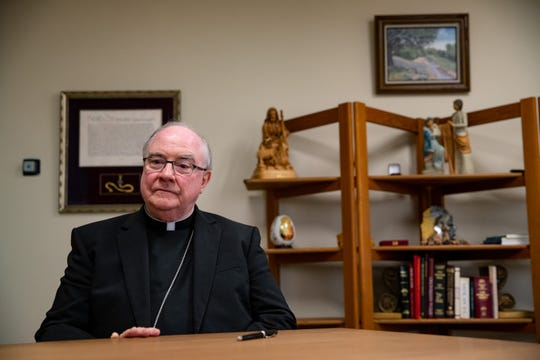 Bishop Michael Mulvey, in effort to prevent the chance of spreading COVID-19, announces the suspension of masses for all Catholic Diocese of Corpus Christi churches until March 31st, 2020.