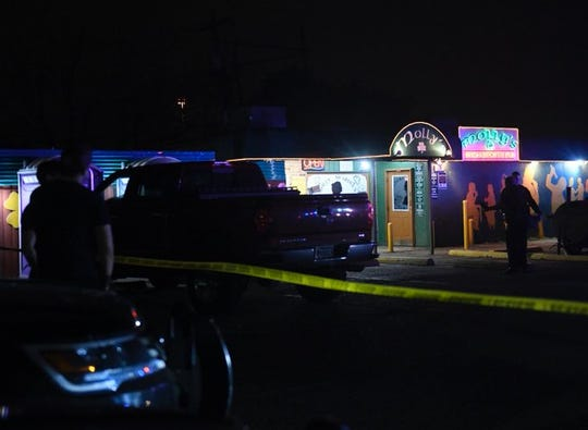 Two women were shot inside Molly's Irish Sports Pub on McArdle Road on Tuesday, March 18, 2020. One suspect is in custody.