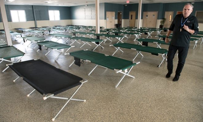 Shawn Sheekey, the executive director of Joseph's House, a homeless shelter in South Camden, stated that the shelter has decreased the number of cots and have spaced them out more due to coronavirus precautions.