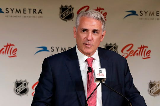Ron Francis, the general manager of NHL's Seattle expansion team, is looking forward to starting the 2021-22 season for his club.