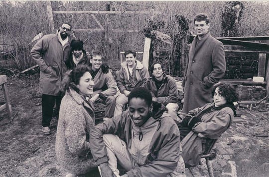 The Fine Arts Work Center Writing Fellows in 1991. Paul Lisicky is in the back row, third from the left.