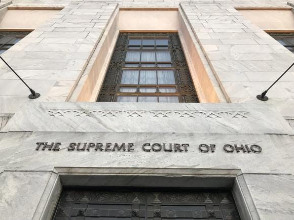 The Supreme Court of Ohio building in downtown Columbus.