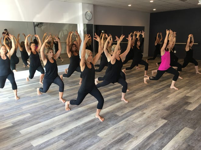 Classes at Empower Fitness.