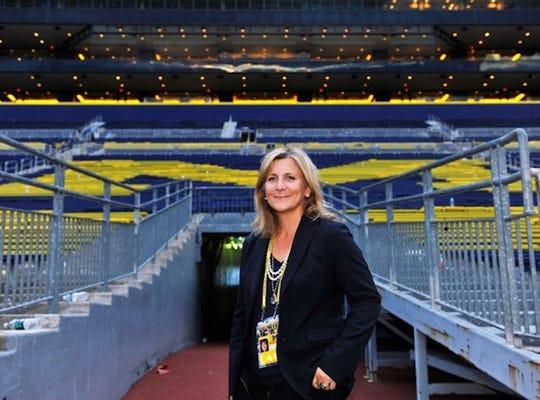 Michigan football beat writer Angelique S. Chengelis.