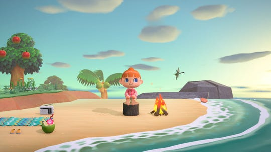 "In ""Animal Crossing: New Horizons"" the outside world is full of wonder."