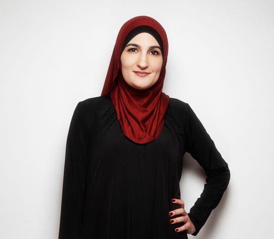 "Activist Linda Sarsour, who has a new memoir, ""We Are Not Here to be Bystanders,"" decided in her early 20s to wear a hijab, or head covering."