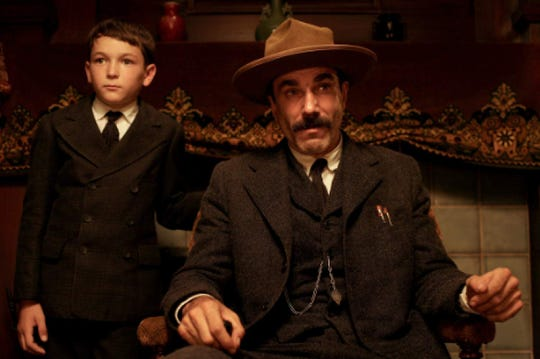 """Dillon Freasier and Daniel Day-Lewis in """"There Will Be Blood."""""""