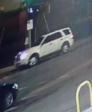 The SUV fled south after the incident.