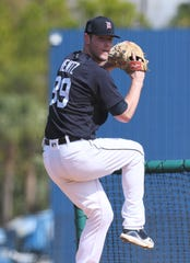 Tigers pitching prospect Joey Wentz underwent Tommy John surgery Tuesday.