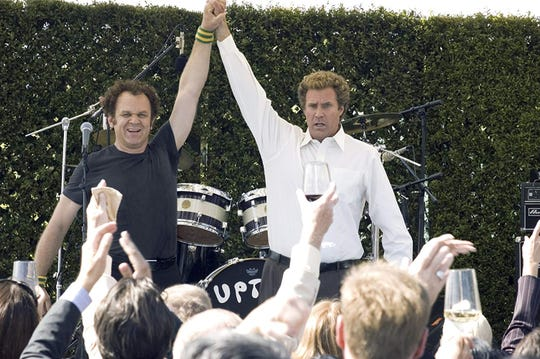 """John C. Reilly and Will Ferrell in """"Step Brothers."""""""