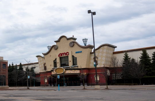 The AMC theater at the Fairlane Town Center mall in Dearborn was closed along with the entire mall for cleaning on Wednesday, March 18, 2020, after a person confirmed to have the coronavirus was known to have visited on Tuesday.