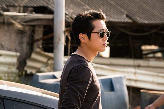 """Steven Yuen in """"Burning."""""""