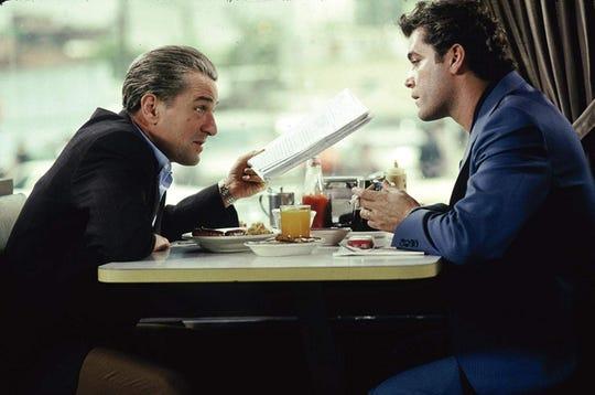 """Robert De Niro and Ray Liotta in """"Goodfellas."""""""