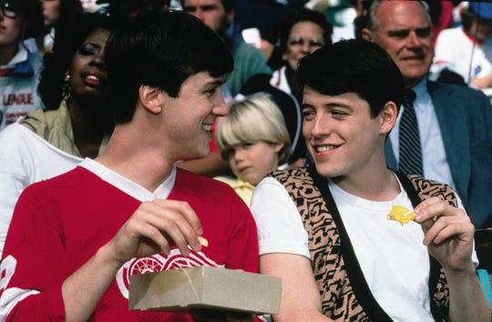 "Alan Ruck and Matthew Broderick in ""Ferris  Bueller's Day Off."""
