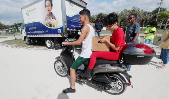 Community Cooperative is hosting mobile food pantries throughout Southwest Florida.