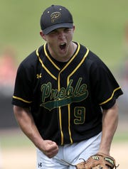 Green Bay Preble star Max Wagner was named the state player of the year in 2019 by Prep Baseball Report.