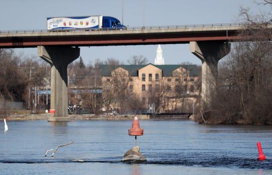 The Fox River in Appleton.