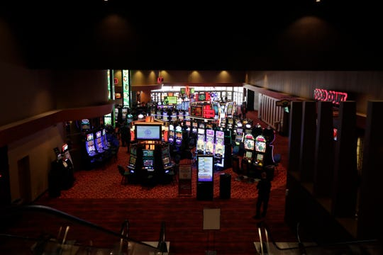 Scenes of the Oneida Casino that will be shutting down for 14 days staring Sunday, March 21, 2020, on Tuesday, March 17, 2020, in Green Bay, Wis. Ebony Cox/USA TODAY NETWORK-Wisconsin