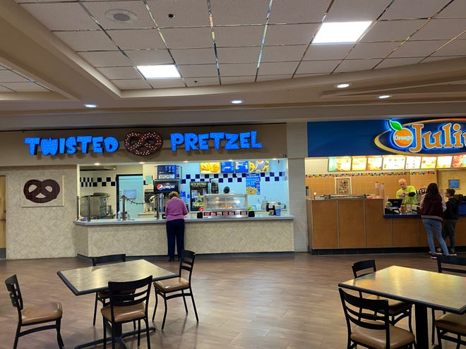 Orange Julius and Twisted Pretzel are closing on March 29th