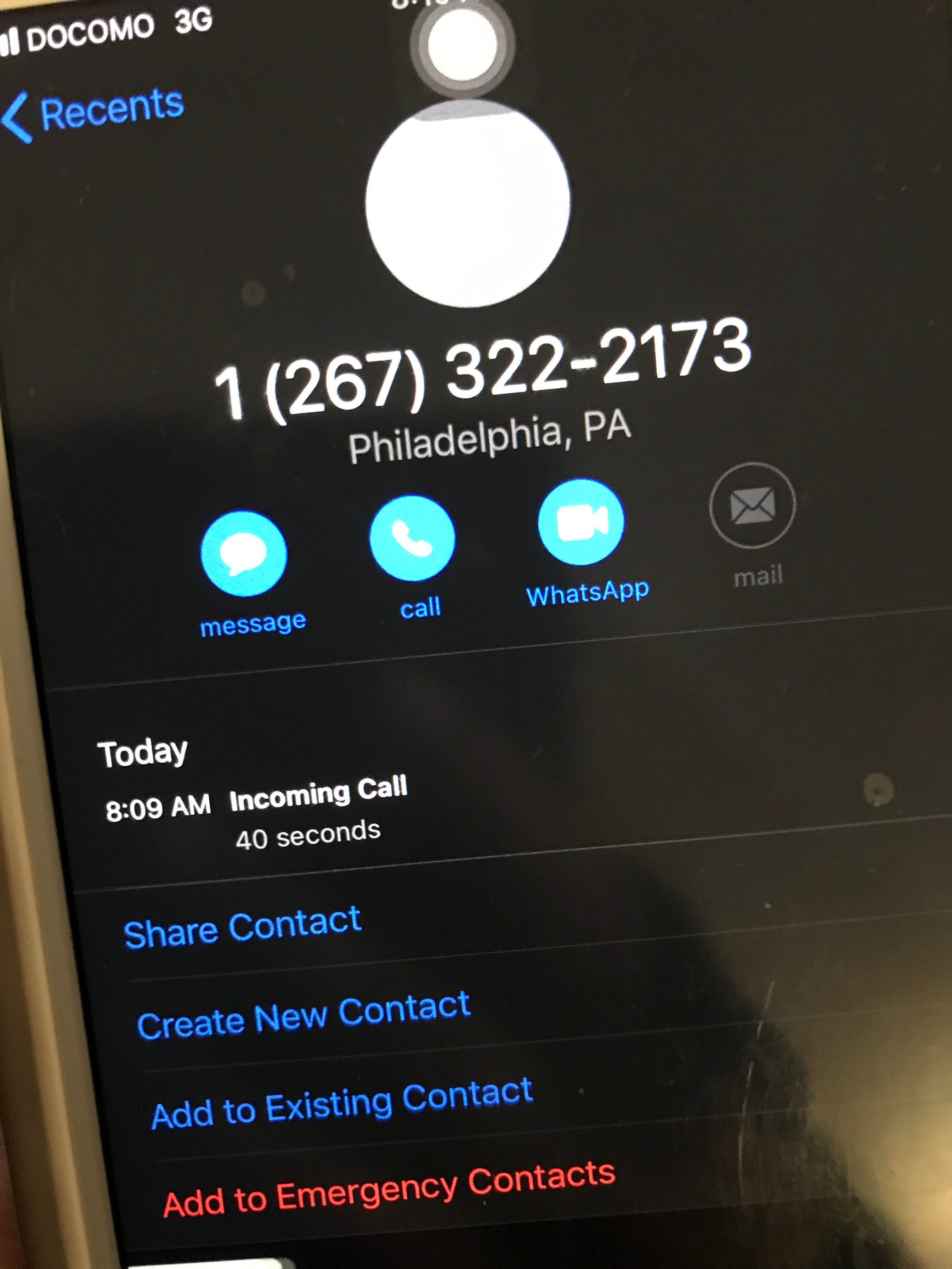 This and other spoofed phone numbers have been reported to authorities as part of an ongoing phone scam targeting Guam residents.