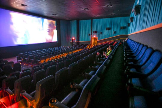 "Only two moviergoers were at a midday showing of ""Bloodshot"" in the main auditorium of the Tango Theatres at the Micronesia Mall Wednesday. Normally there would be between 25 to 50 people watching a midday movie, said Marylou Mejares, Tango's operation manager. She said that's has fallen about 90%."