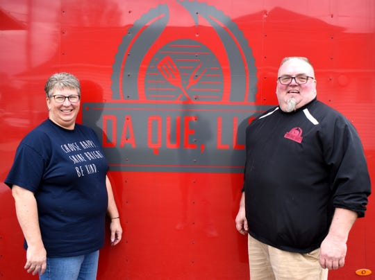 Amy and Dwayne Vannoy own Da Que Barbeque at 112 East Main Street in Amanda.