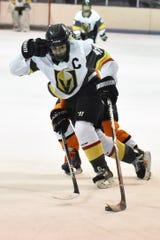 Chloe Valente of Livingston United led the state girls hockey ranks in scoring this season.